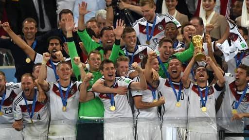 L'Allemagne, lauréate de cette Coupe du Monde 2014.
