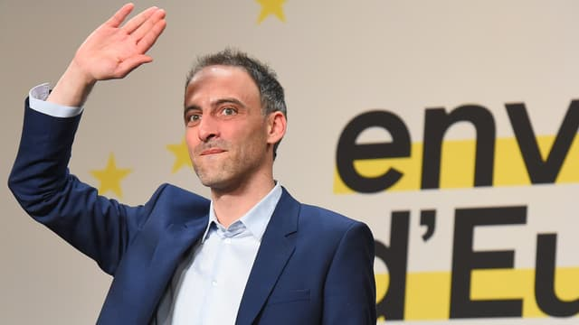 Raphaël Glucksmann à Bordeaux le 2 mai