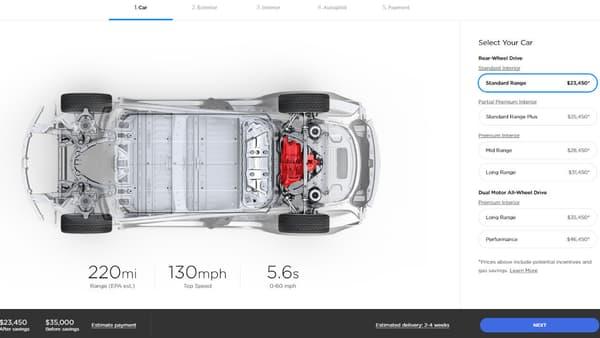 Côté performances, cette version standard proposera tout de même un 0 à 100 km/h en 5,6 secondes.
