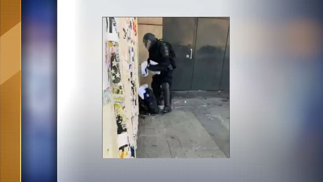 Capture d'écran de la vidéo Live de Brut.