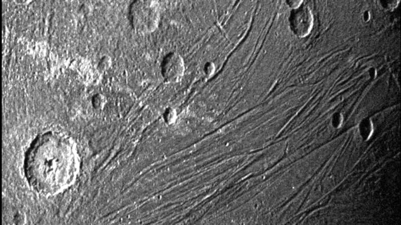 La Nasa diffuse de nouvelles images inédites de Ganymède, la lune géante de Jupiter