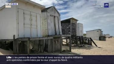 Calais: plusieurs chalets de plage détériorés, les propriétaires réclament des moyens de protection