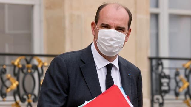 Jean Castex quitte l'Elysée un mercredi à l'issue du Conseil des ministres. (Photo d'illustration)
