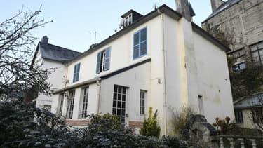 L'ancienne maison familiale des Seznec à Morlaix (Finistère), le 24 février 2018