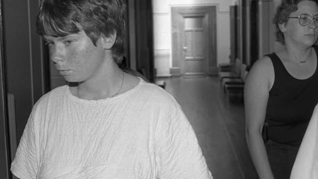 Murielle Bolle en 1984.