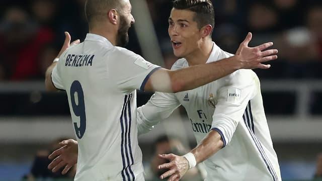 Benzema et Ronaldo