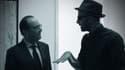 François Hollande rencontre l'artiste JR
