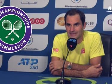 Tennis : Federer veut être à 100% pour Wimbledon