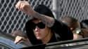 Justin Bieber avant sa comparution le 23 janvier 2014, pour conduite en état d'ébriété sans permis.