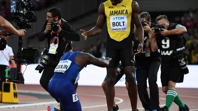 Vainqueur, Gatlin s'incline devant Bolt