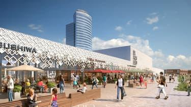 Le nouveau centre commercial La Part Dieu verra le jour mi-2020.