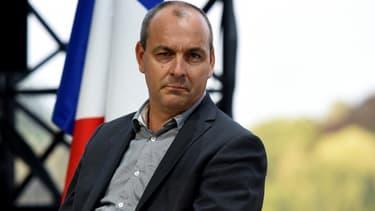 Le secrétaire général de la CFDT Laurent Berger lors d'une réunion du Medef à Paris, le 28 août 2019