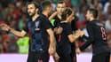 Les Croates ont ouvert le score par Périsic.