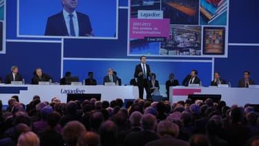 Depuis fin 2011, Arnaud Lagardère est passé de 9,6% à 7,7% du capital de son groupe