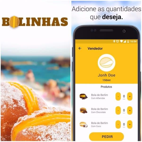 Capture d'écran de l'application Bolhinas