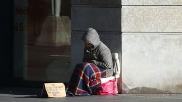 Une vingtaine de sans-abri de Guingamp vont pouvoir bénéficier d'un repas de noël (illustration).