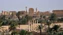 La cité antique de Palmyre en Syrie le 18 mai 2015.