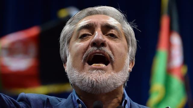 Abdullah Abdullah s'est déclaré mardi vainqueur de la présidentielle afghane le 8 juillet 2014.