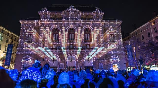 L'édition 2013 de la fête des Lumières à Lyon.