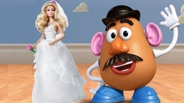 Les fabricants de Barbie et de Monsieur Patate discutent d'un rapprochement.