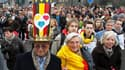 Des milliers de Belges ont défilé dimanche dans les rues de Bruxelles pour réclamer un gouvernement, plus de sept mois après les élections législatives de juin. La Belgique a désormais atteint son 223e jour sans gouvernement. /Photo prise le 23 janvier 20