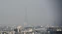 Paris sous la pollution. (Photo d'illustration)