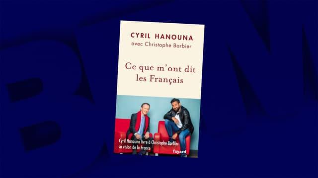 """""""Ce que m'ont dit les Français"""", le livre de Cyril Hanouna coécrit avec Christophe Barbier."""