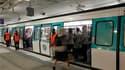 La RATP prévoit un trafic globalement peu perturbé mercredi à Paris et en Ile-de-France en dépit de la reconduction du mouvement contre la réforme des retraites par une grande partie des assemblées générales. /Photo prise le 12 octobre 2010/REUTERS/Benoît