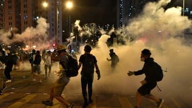 De nouvelles manifestations ont eu lieu à Hong-Kong ce dimanche