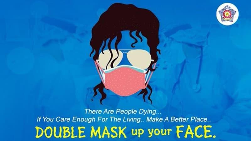 """Covid-19: """"Heal the world"""", de Michael Jackson à la rescousse de la police de Bombay"""