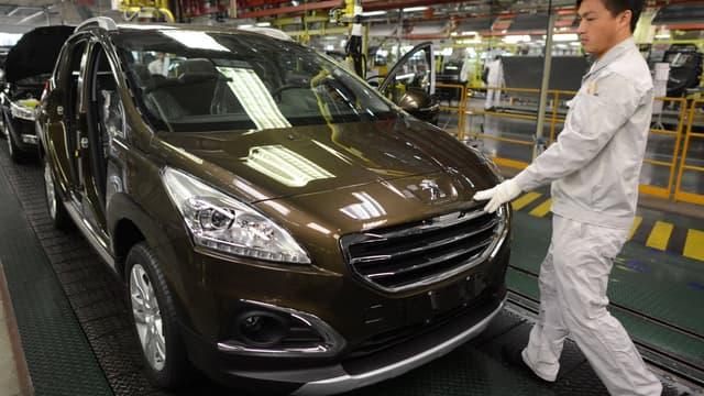 PSa Peugeaot Citroen a fait connu une hausse de 9% de ses ventes en Asie, tirées par un marché chinois en hausse.