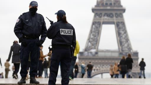 Les policiers ont pu identifier l'un des auteurs présumés du braquage à Paris (photo d'illustration)