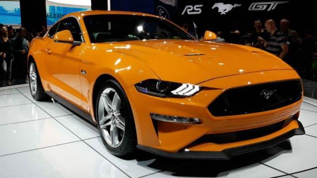 La Ford Mustang 2018 exposée il y a quelques semaines au salon automobile de Francfort.