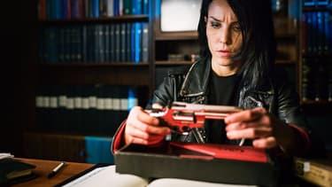 L'actrice Noomi Rapace dans l'adaptation suédoise de la saga