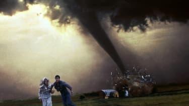 L'affiche du film Twister, de Jan de Bont, en 1996.