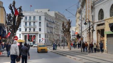Les rues de la ville de Tunis (Photo d'illustration).