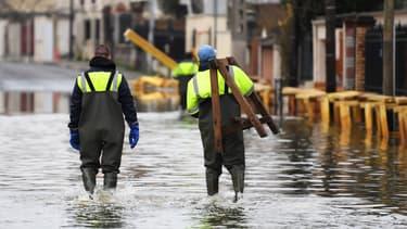 """Le Gers et les Hautes-Pyrénées sont en alerte orange """"inondations"""". (Photo d'illustration)"""