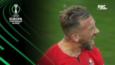 Rennes-Tottenham : Le bel enchaînement de Tait pour remettre les deux équipes à égalité