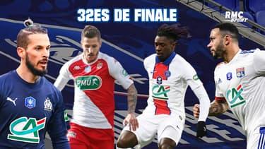 Coupe de France : Les résultats des 32es de finale, voie pro (jeudi 10h)