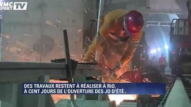 J-100 : Rio encore en travaux