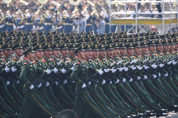 A Pékin, le 1er octobre.