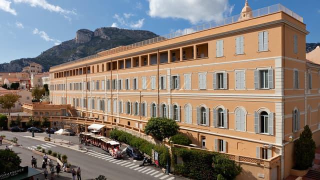 Le l ycée Albert 1er vue depuis le Musée Océanographique de Monaco.