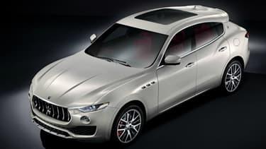 Le Levante, premier SUV de l'histoire de Maserati, sortira au printemps prochain et sera exposé au Salon de Genève.