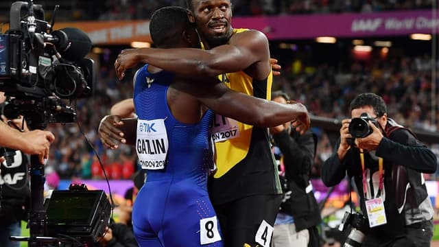 Usain Bolt et Justin Gatlin