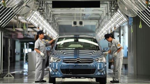 PSA et Dongfeng possèdent déjà trois usines à Wuhan, en Chine.