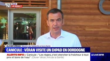"""Olivier Véran: Face à la canicule, """"les règles c'est chercher la fraîcheur à tout prix"""""""
