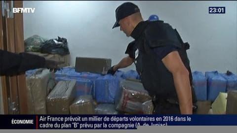 Sept tonnes de Cannabis ont été saisis à Paris