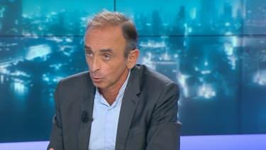 Éric Zemmour sur BFMTV ce lundi 17 septembre