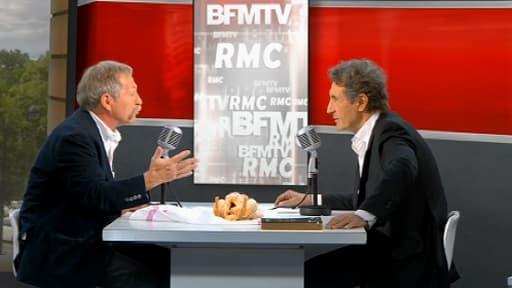 José Bovet, son poulet AOC et Jean-Jacques Bourdin ce jeudi 22 mai.