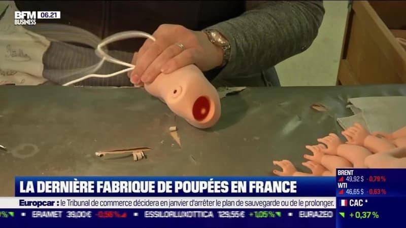 La France qui résiste : La dernière fabrique de poupées en France, par Justine Vassogne - 15/12